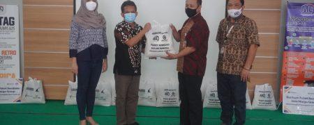 Bantuan Paket Sembako Jasa Marga Group Dalam Rangka Penanggulangan Covid-19